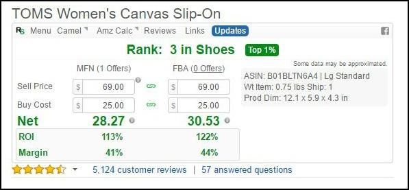 RevSeller for Amazon FBA