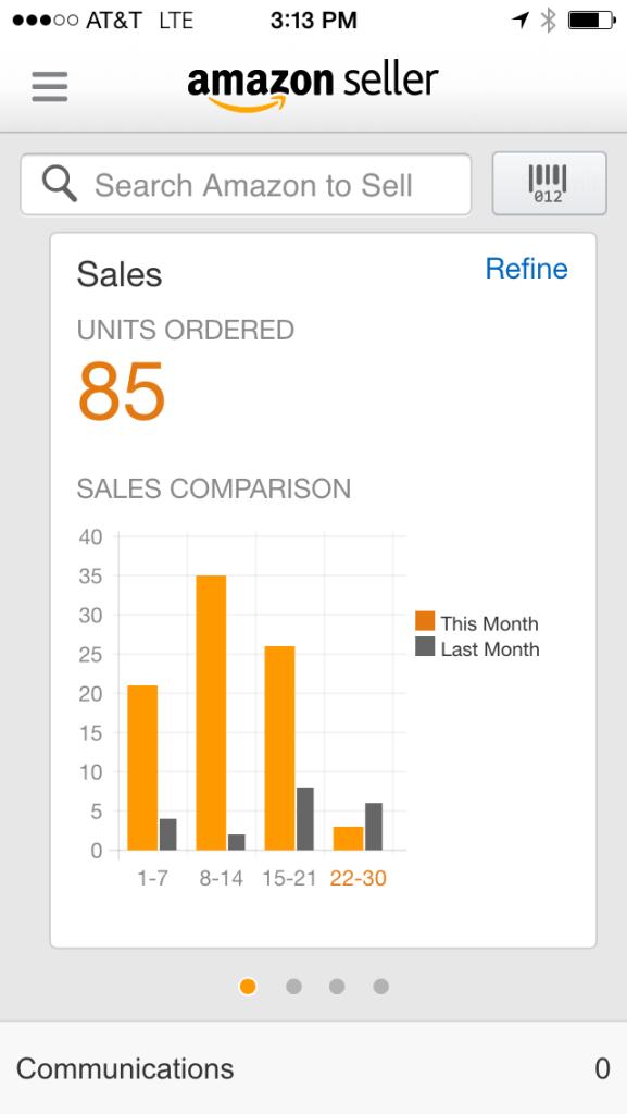 Amazon FBA Screenshot