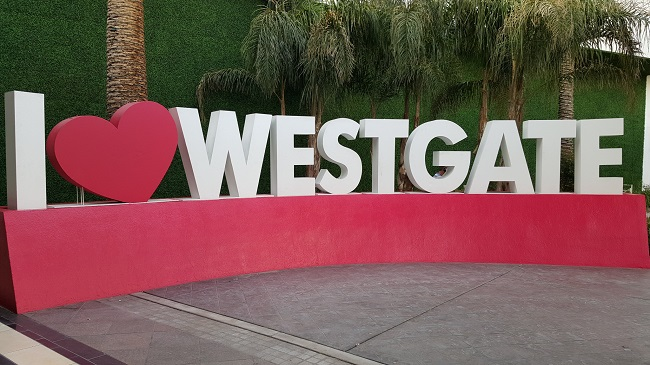 Westgate Hotel Sign