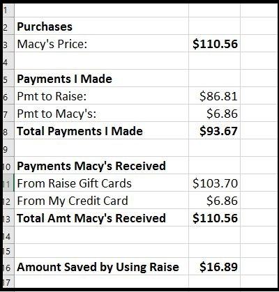 Payment Spreadsheet