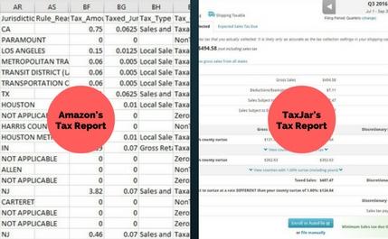 Amazon's Tax Report