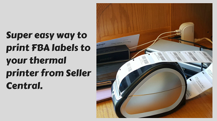 AZLabels: Easily Print FBA Labels to Your Dymo From Seller